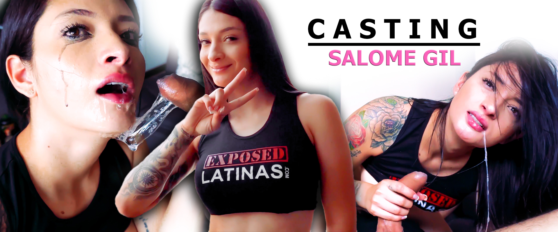 Salome Gil Blowjob Casting Exposed Latinas porno porn