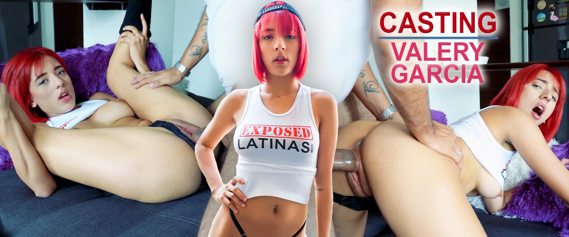 Valery Garcia casting porno porn